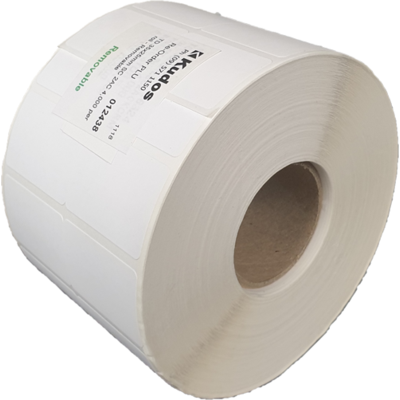 TD 35x25mm SC 2AC 4,000 per roll - Permanent